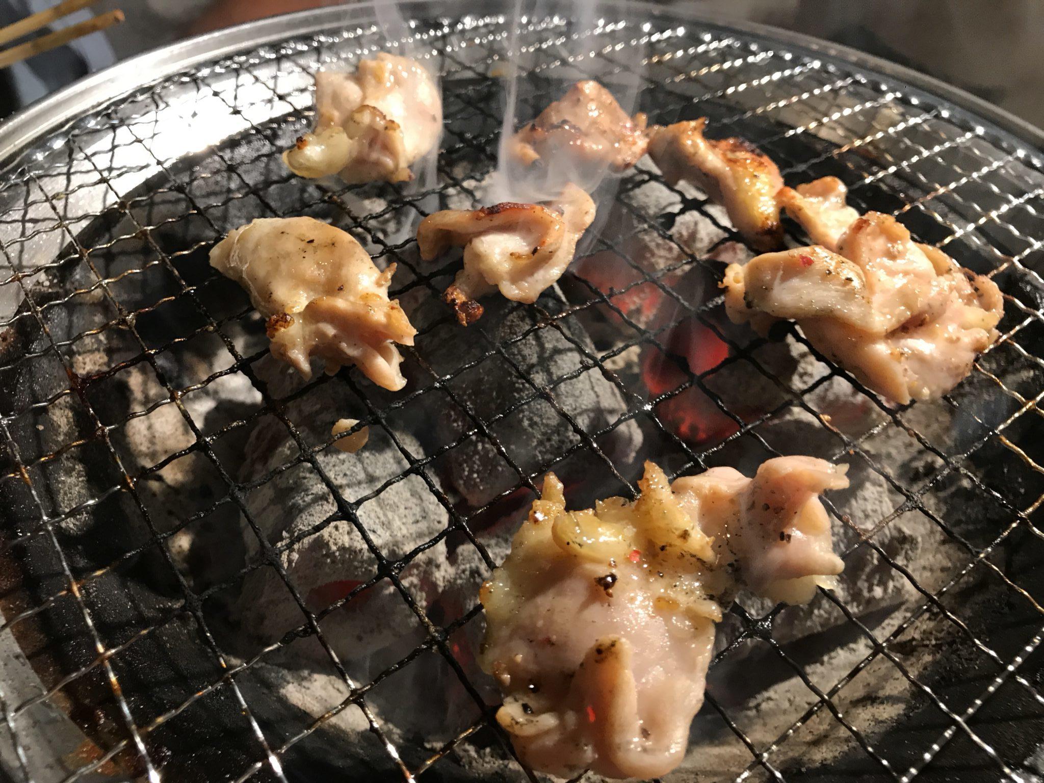鶏はらみ焼き