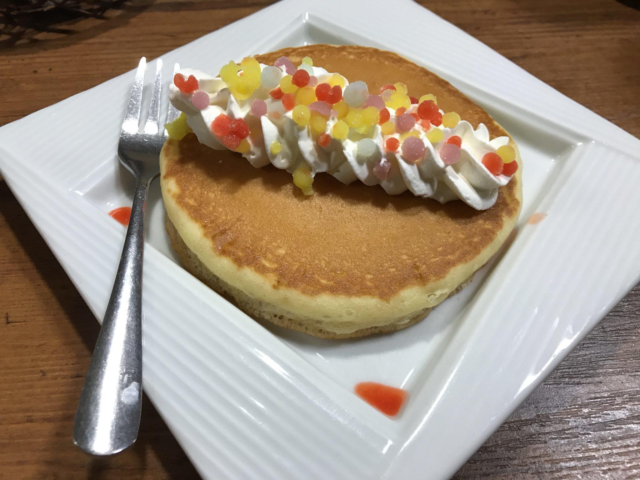 キラキラ星パンケーキ