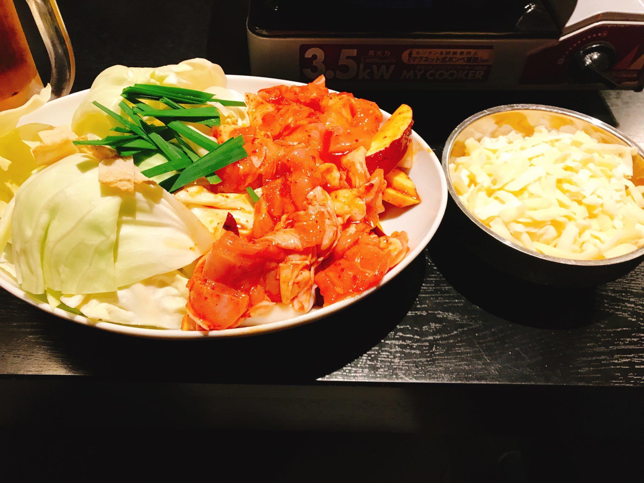チーズ・タッカルビ