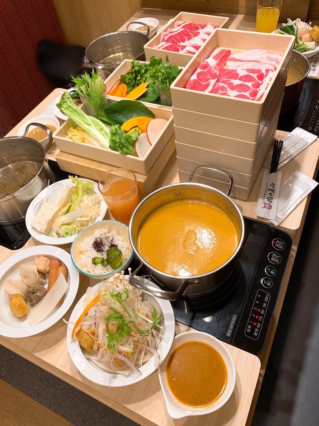 肉の美山水島店テーブル2