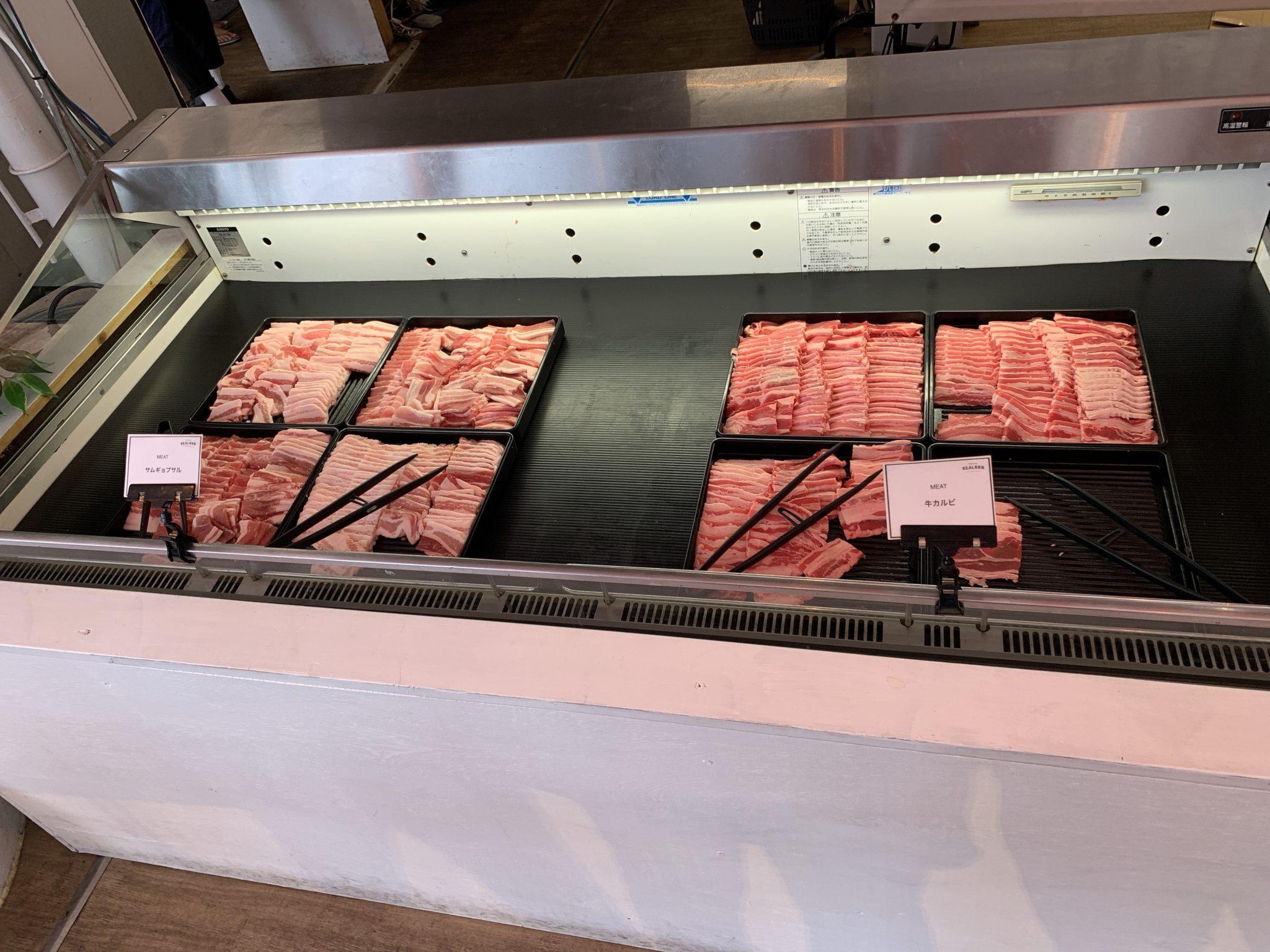 REALBBQのお肉