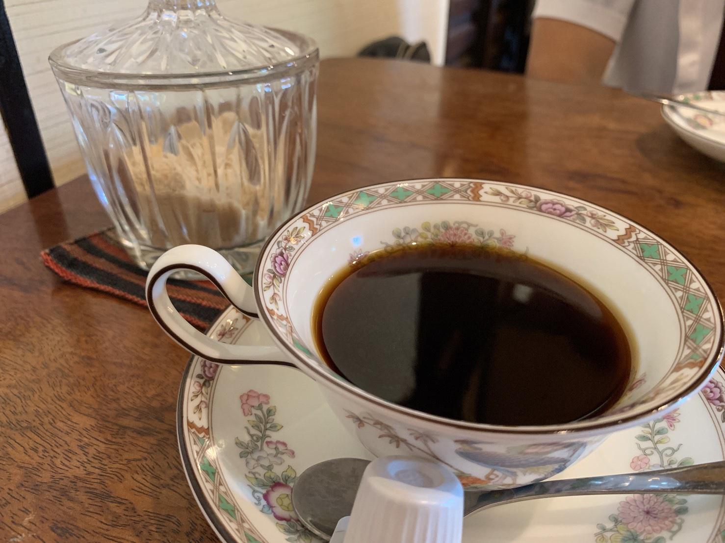 桜花のコーヒー