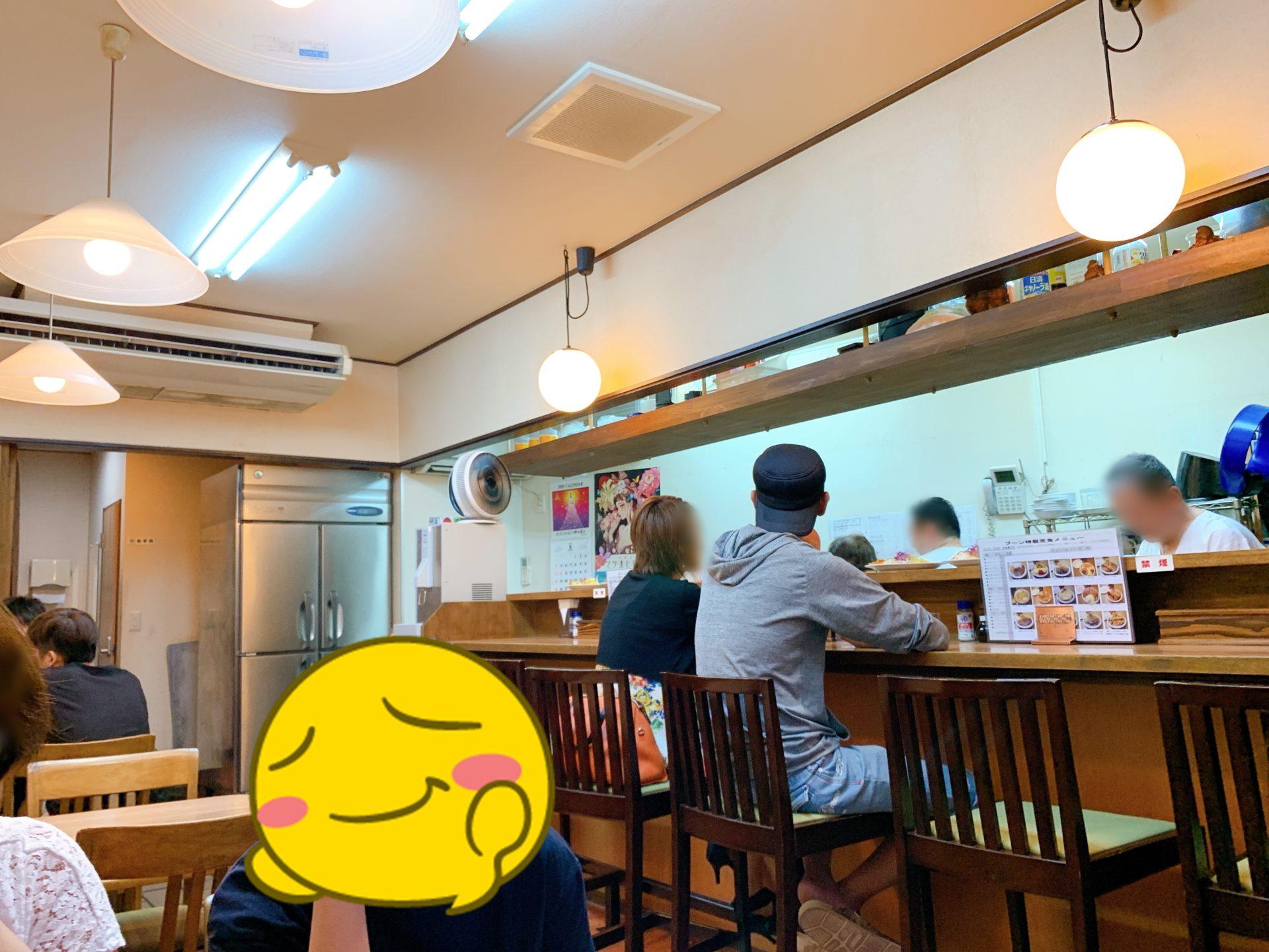 洋食のお店ブーン店内