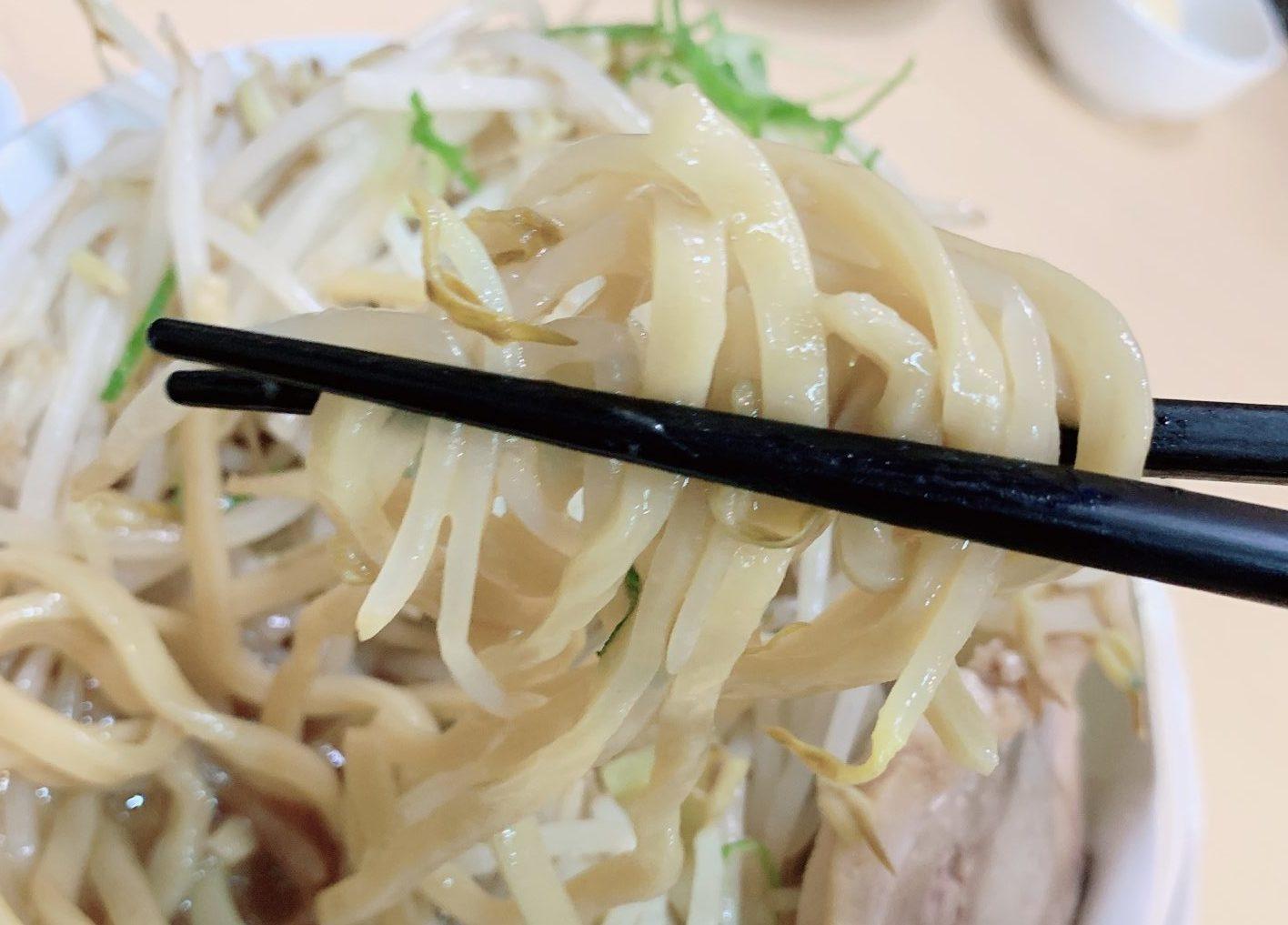 食楽の太麺